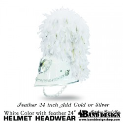 05-Helmet-White add gold