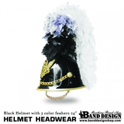 08-Helmet-White-color Plume